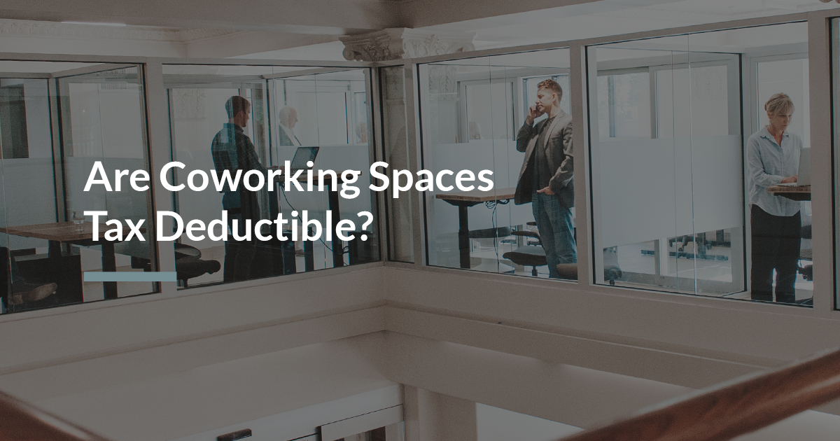 Coworking Tax Deduction