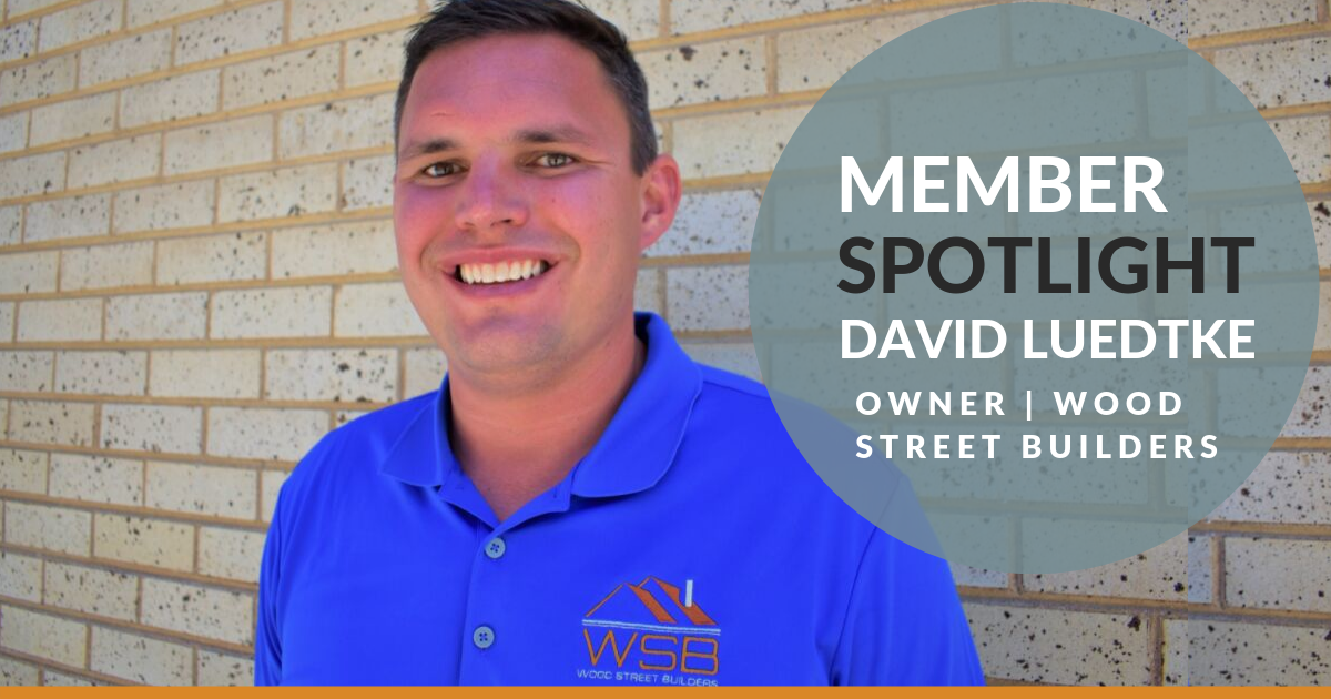 Member Spotlight: David Luedtke