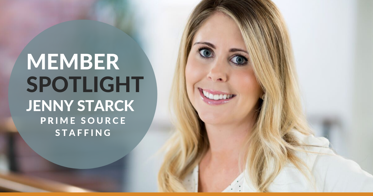 Member Spotlight: Jenny Starck, Prime Source Staffing